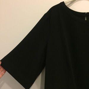 3/4 Length Sleeve Blouse w high low hem